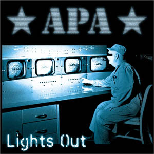 "APA- Lights Out 7"" (Adolph & The Piss Artists) (Sale price!)"