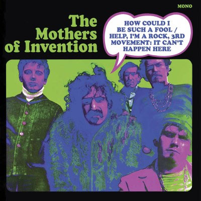 """Frank Zappa & The Mothers Of Invention- How Could I Be Such A Fool 7"""" (Color Vinyl) (Record Store Day 2016 Release) (Sale price!)"""