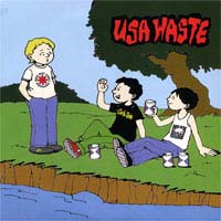 "USA Waste/Abortive Issue- Split 7"" (Sale price!)"