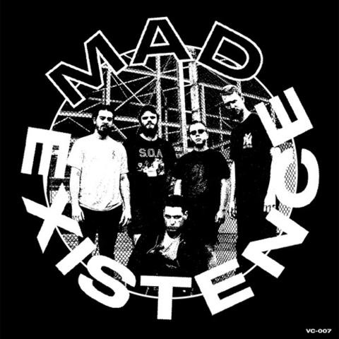 "Mad Existence- S/T 7"" (Sale price!)"