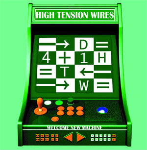 High Tension Wires- Welcome New Machine LP