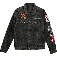 Rolling Stones- Dragon denim jacket