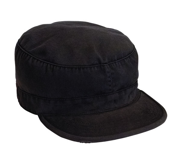 Fatigue Cap by Rothco- BLACK
