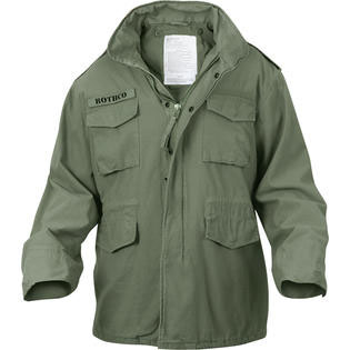M-65 Field Jacket by Rothco- OLIVE