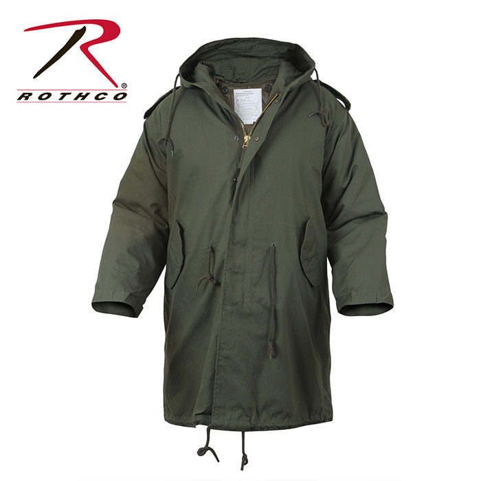 Fishtail M-51 Parka by Rothco- OLIVE