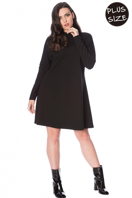The Snug Mod Dress by Banned Apparel - Plus Size
