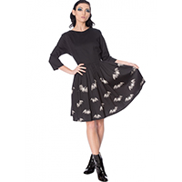 Lace Bats Retro Dress by Banned Apparel