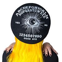 Ouija Beret by Kreepsville 666 - black
