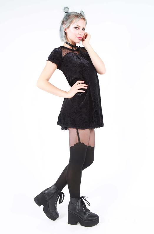 Cave Creeps Sweetheart Dress by Iron Fist - SALE sz M only