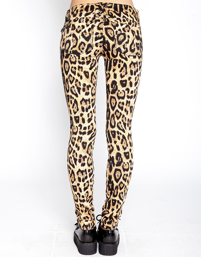 ce24def80807 Natural Leopard- Girls Skinny T Back Jean by Tripp NYC. »
