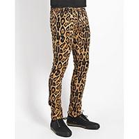 Tripp NYC Rocker Leopard Print Rocker Skinny Stretch Jeans