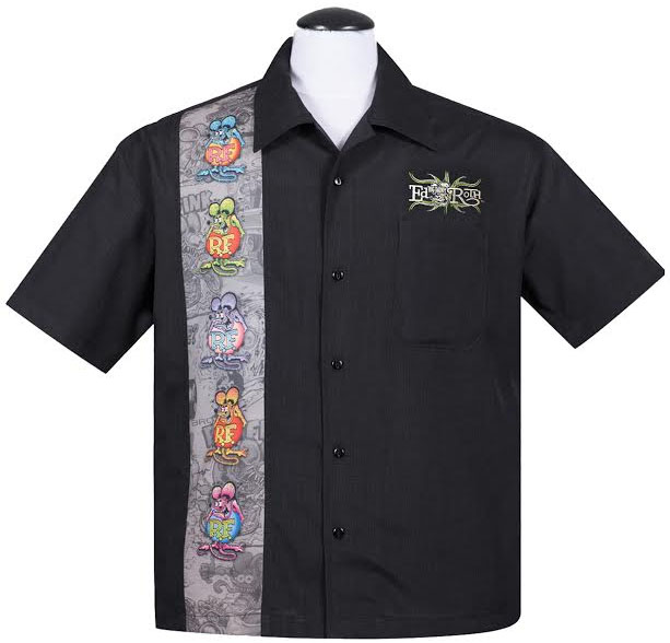 Rat Fink Five Finks Button Up Shirt by Steady Clothing - SALE
