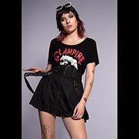 Bondage Strap Skirt by Banned Apparel