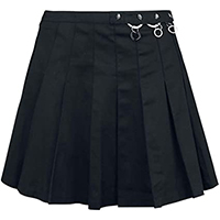 Pleated Ring Skirt by Banned Apparel - XL only - last one