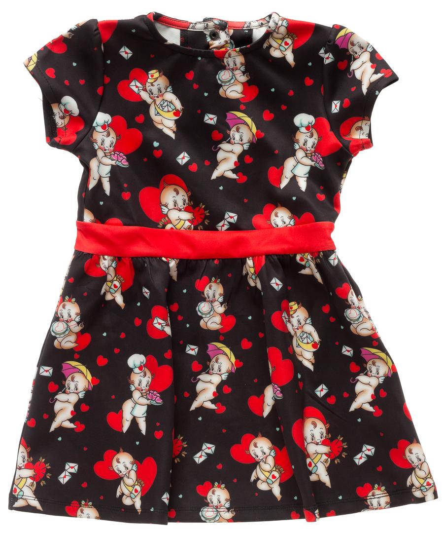 Kids Dress - Kewpids - by Sourpuss - SALE sz 2T only