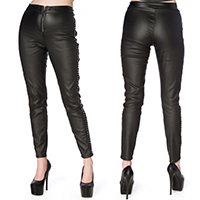 Hell Bent For Studs Jeggings by Banned Apparel