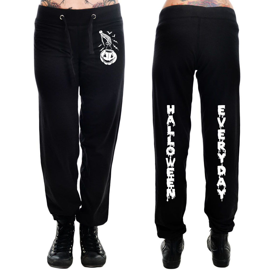 Sweatpants by Too Fast Clothing - Halloween Everyday - SALE