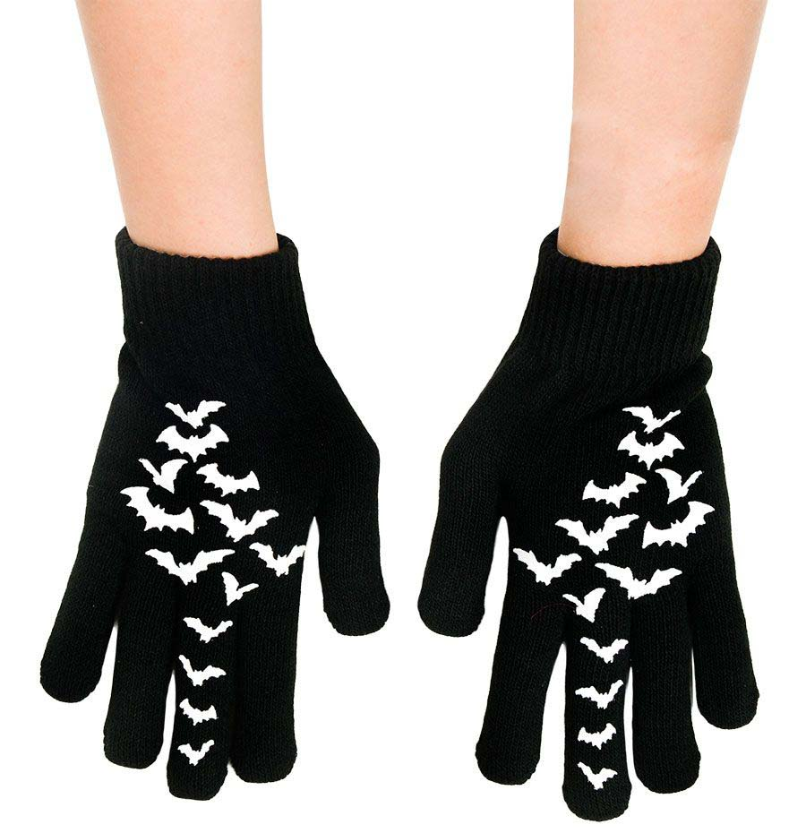 Gloves by Too Fast / Rat Baby Clothing - Flying Bats