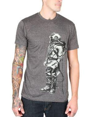 Exploration on a charcoal guys slim fit shirt by Annex Clothing