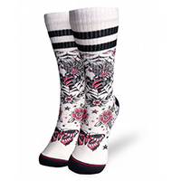 Liquor Brand Unisex Socks - Gypsy Queen Color Flash on White