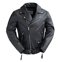 Broc Guys Vegan Motorcycle Jacket by First MFG
