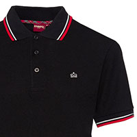 Card Polo by Merc Clothing- Black