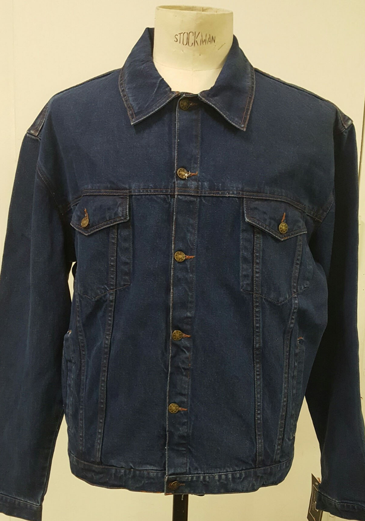 Denim Jacket by Unik- INDIGO (Sale price!)