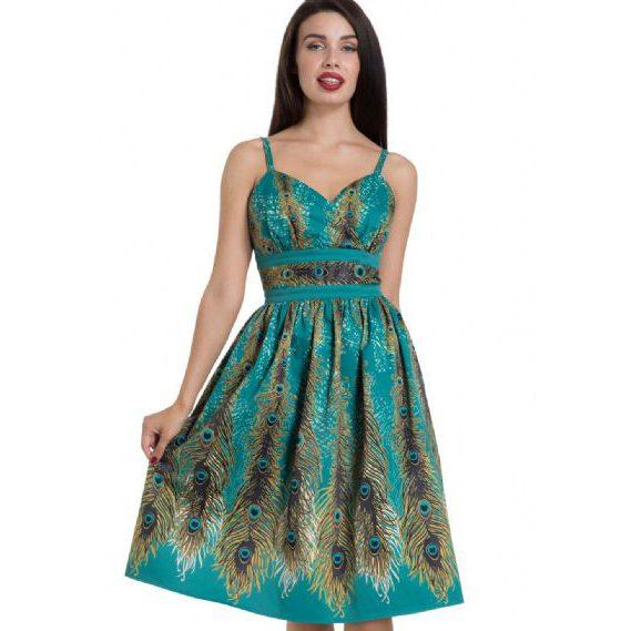 Hattie Peacock Evening Dress by VooDoo Vixen