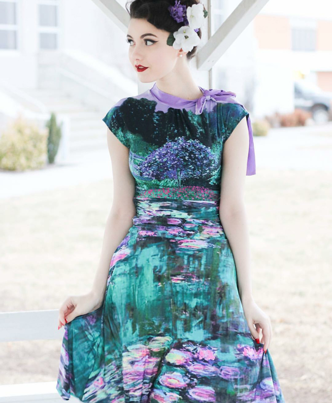 Paint The Past Dress by Folter - SALE sz XS, 1X & 3X only