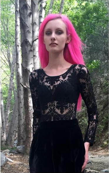 Black Lace Bodysuit by Folter - SALE sz M only