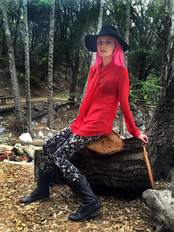 Ritual Leggings by Folter - Baphomet Print - SALE sz 4X only