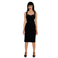 Vamp Wiggle Dress by Folter - SALE Plus Size Only