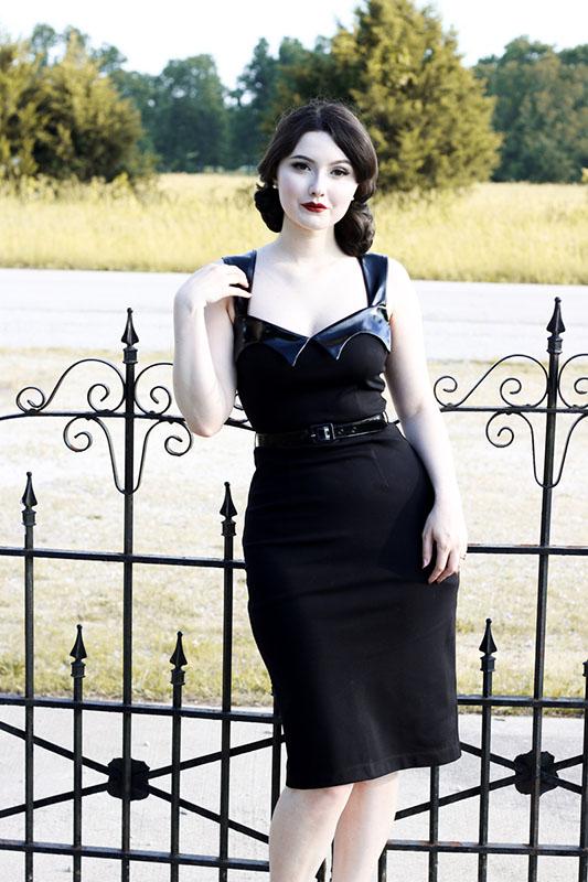 Vamp Wiggle Dress By Folter Sale Size 4x Only