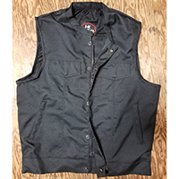 Black Codura Vest by I-K Denim