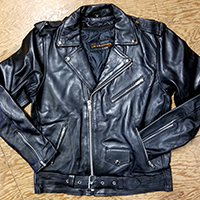 Lightweight Sheep Skin Classic Biker Jacket by IK Leather