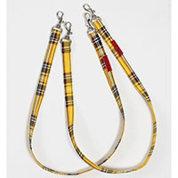 Cotton Bondage Straps by Tripp NYC - Yellow Plaid