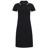 Kara Girls Polo Dress by Merc Clothing- Black