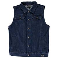 Blue Denim Vest by Kustom Kreeps / Sourpuss - SALE