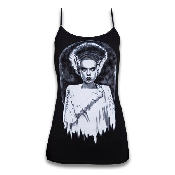 Bride of Frankenstein Tank by Shayne of the Dead & Low Brow Art Company