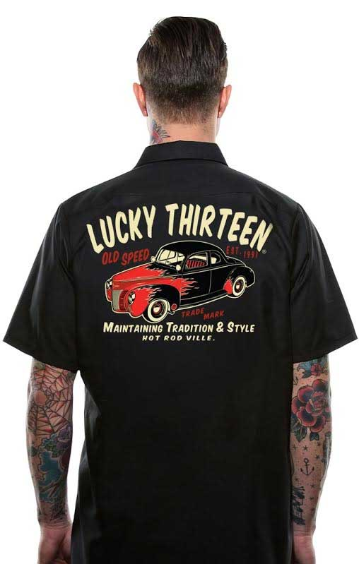 OLD 49' Short Sleeve Workshirt by Lucky 13