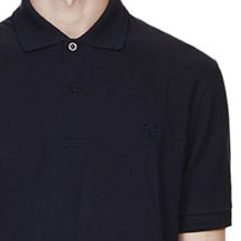 Fred Perry Laurel Collection Twin Tipped Polo Shirt- NAVY/NAVY (Made In England!)