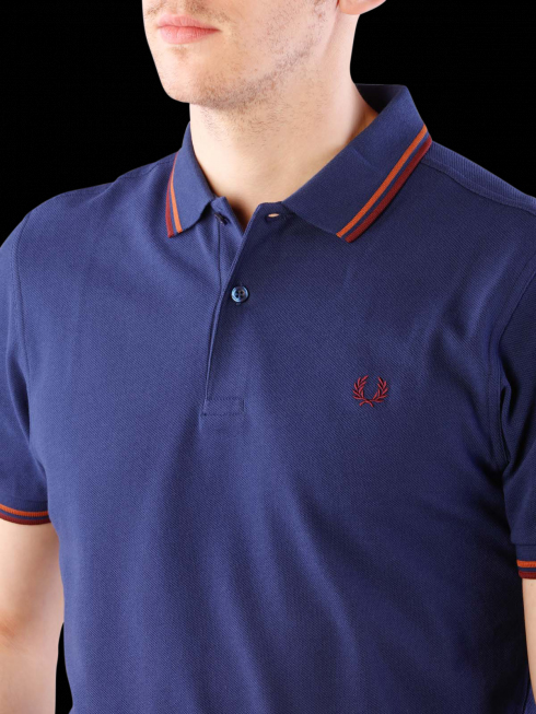 Fred Perry Polo Shirt- French Navy