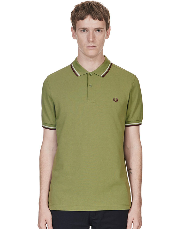 Fred Perry Polo Shirt- Olive