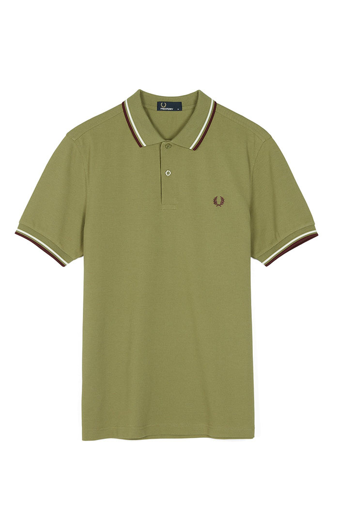 fred perry polo shirt olive. Black Bedroom Furniture Sets. Home Design Ideas