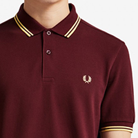 Fred Perry Polo Shirt- Aubergine