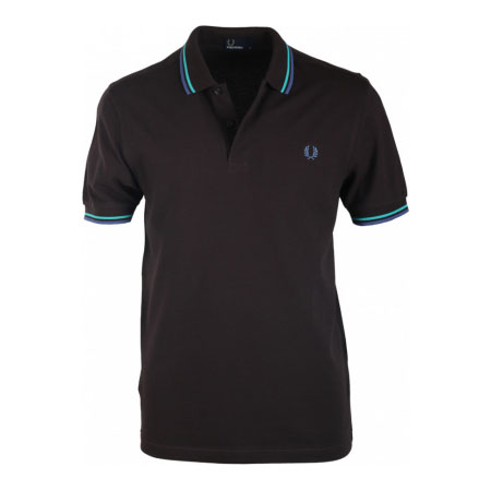 Fred Perry Polo Shirt- Liquorice
