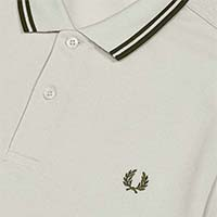 Fred Perry Polo Shirt- Cement (Sale price!)