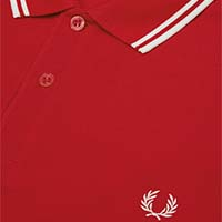 Fred Perry Polo Shirt- England Red (Sale price!)