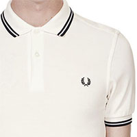 Fred Perry Polo Shirt- Snow White (Sale price!)