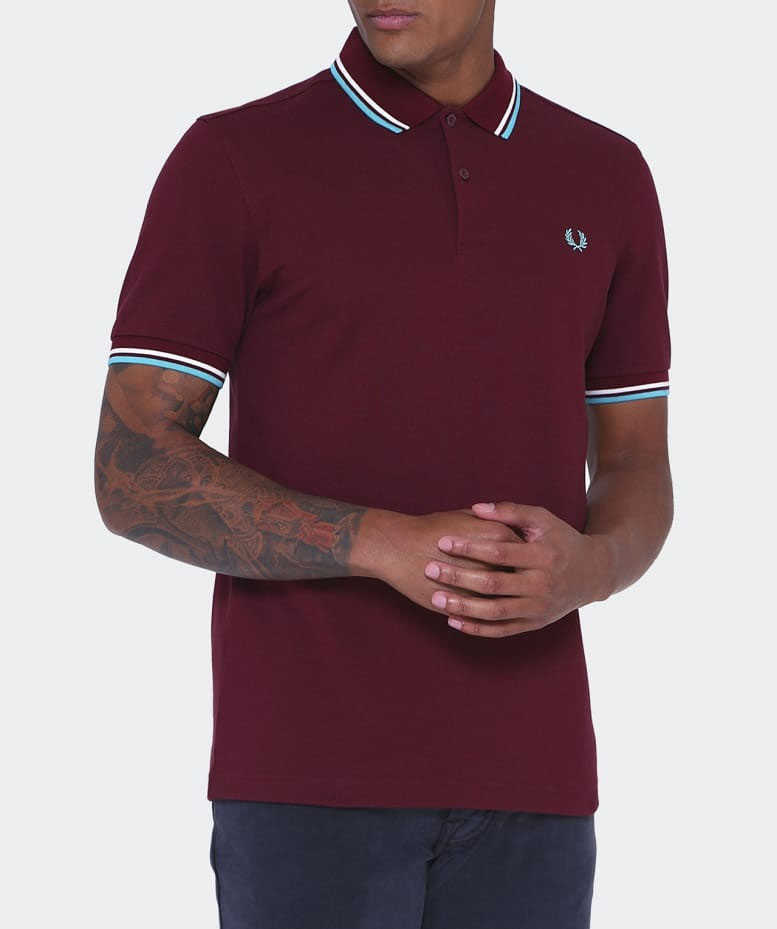 Fred Perry Polo Shirt- Port